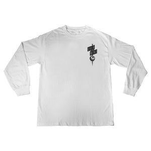 THE NAIL LONG SLEEVE - WHITE