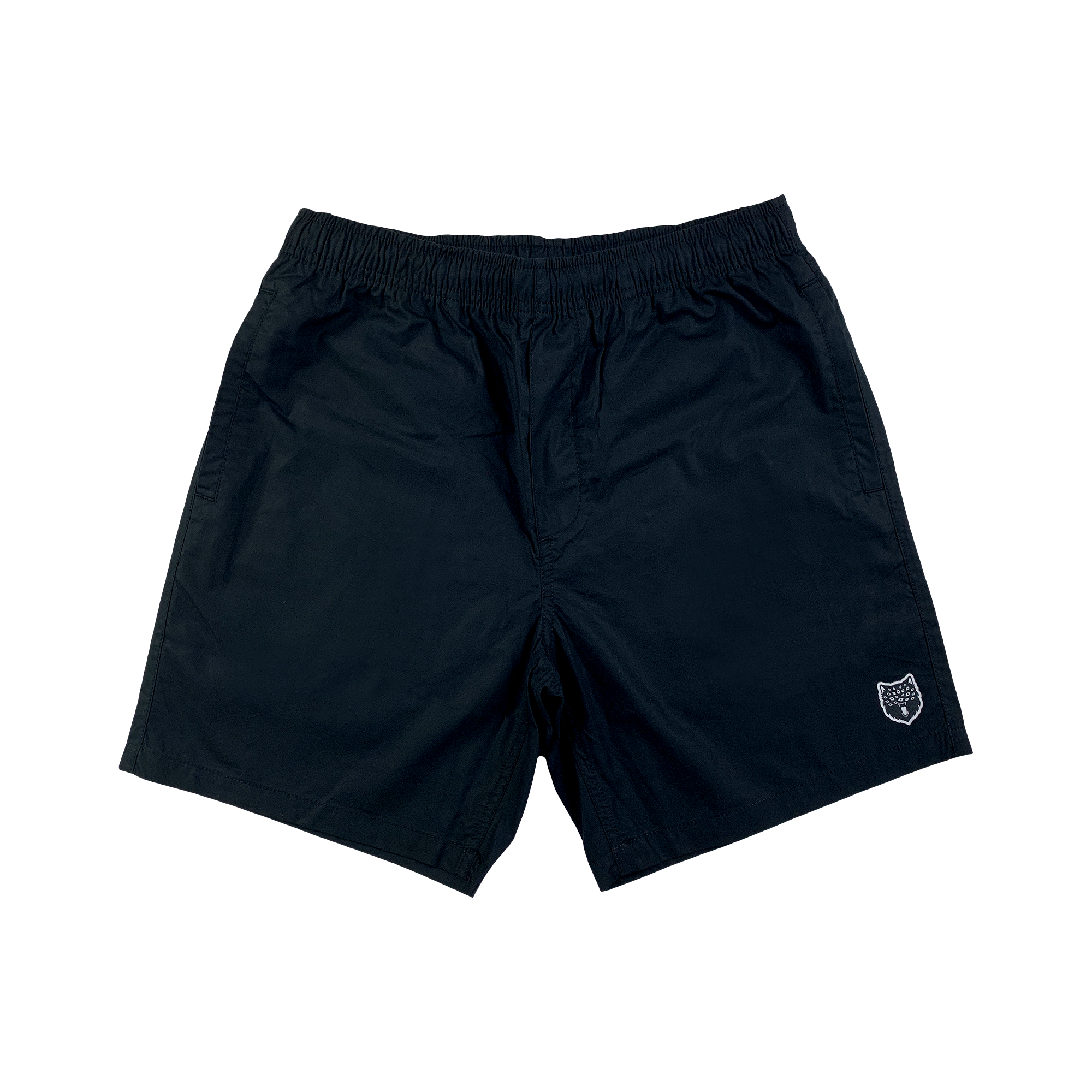WARG BEACH SHORT : BLACK