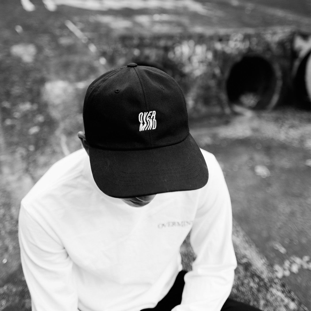 WARP LOGO 6-PANEL - BLACK