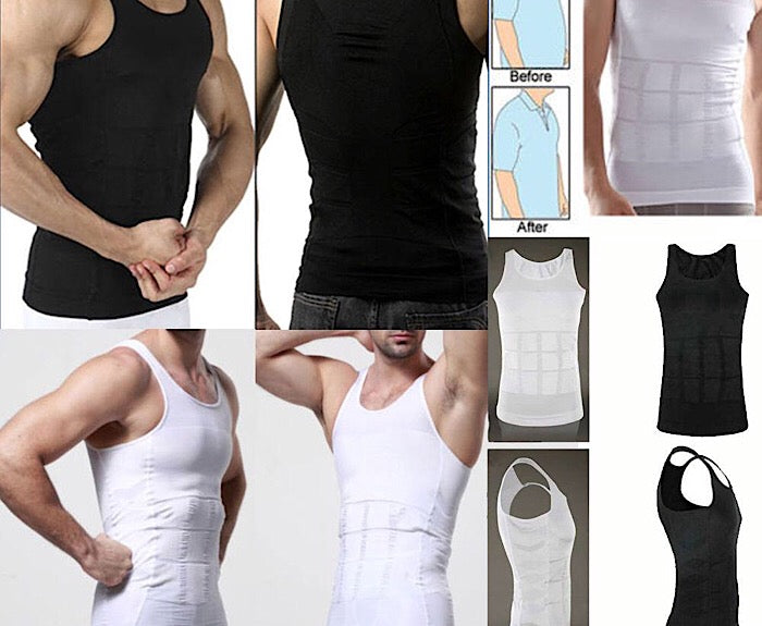 Men's Body Shaper Slimming Compression T-Shirt - OmniBrace