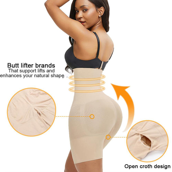Women's Seamless Tummy, Thigh, Hip & Butt Lift/Shaper Bodysuit - OmniBrace