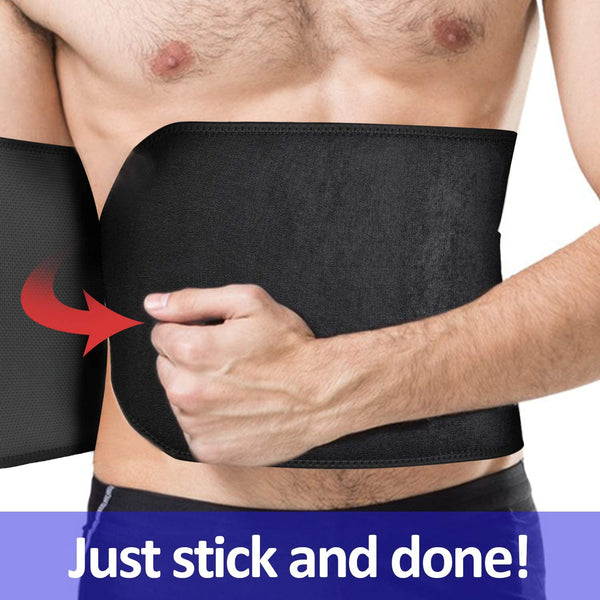Men's & Women Unisex Waist Trimming Sweat Belt Wrap - OmniBrace