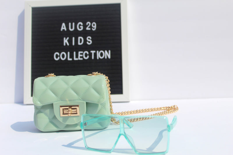 Mini Baddie Square Sunglasses