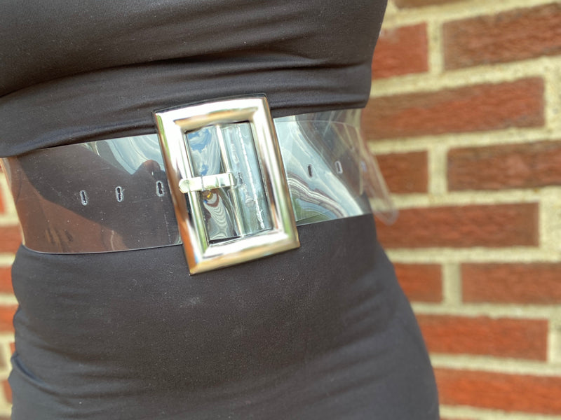 Clear it Up| Oversized Belt