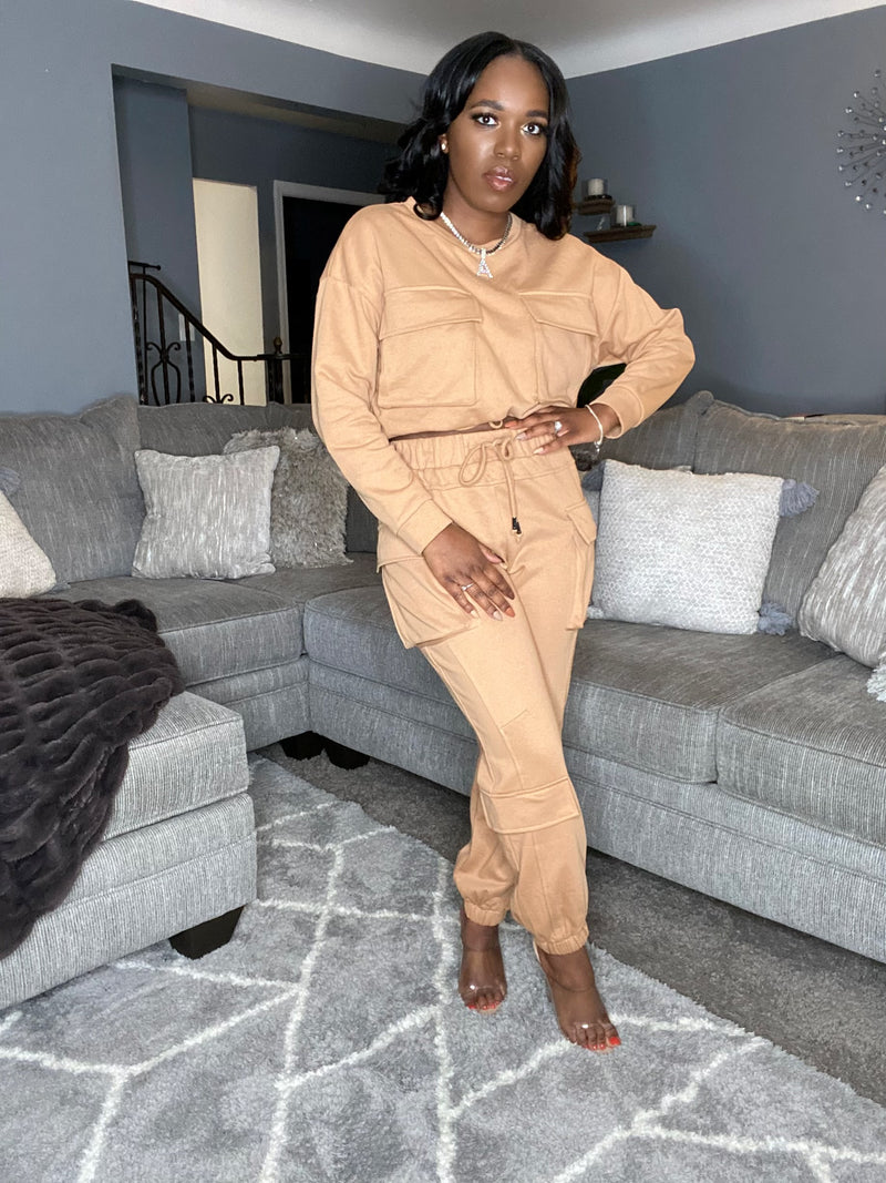 Excuse Me Miss| 2-pc Jogging Suit