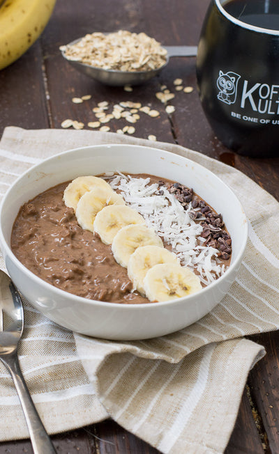 Chocolate Coffee Oatmeal