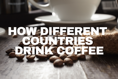 How Different Countries Prefer Drinking Coffee
