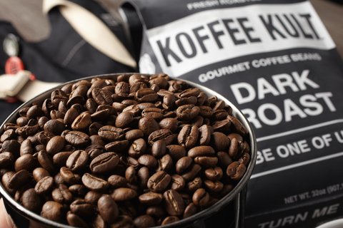 Koffee Kult Dark Roast Premium Coffee Beans