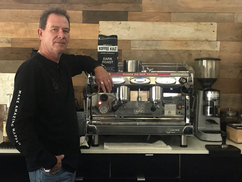 Robert Murray OneKreate Koffee Kult first customer