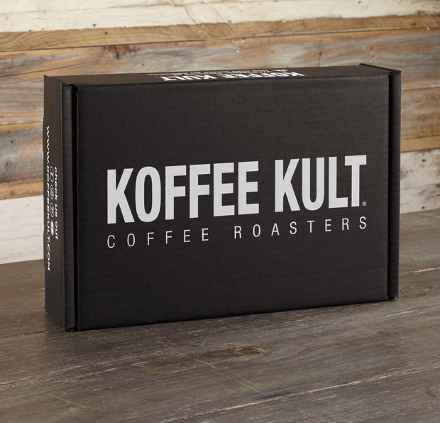 2 x 12oz Coffees & Travel Mug Gift Box