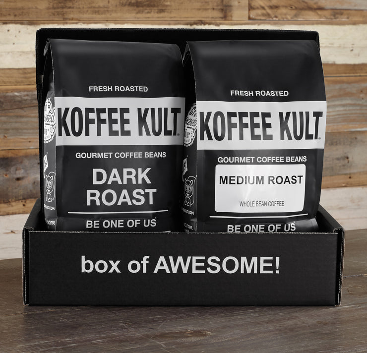 2 x 32oz Coffee Gift Box