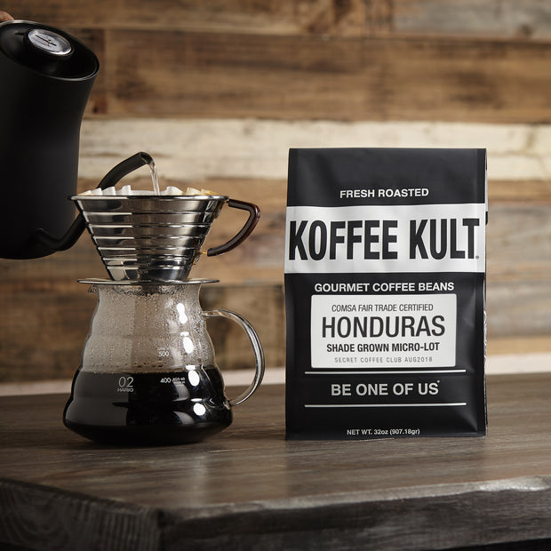 coffee honduras fair trade certified shade grown comsa micro-lot roast exclusive by koffee kult