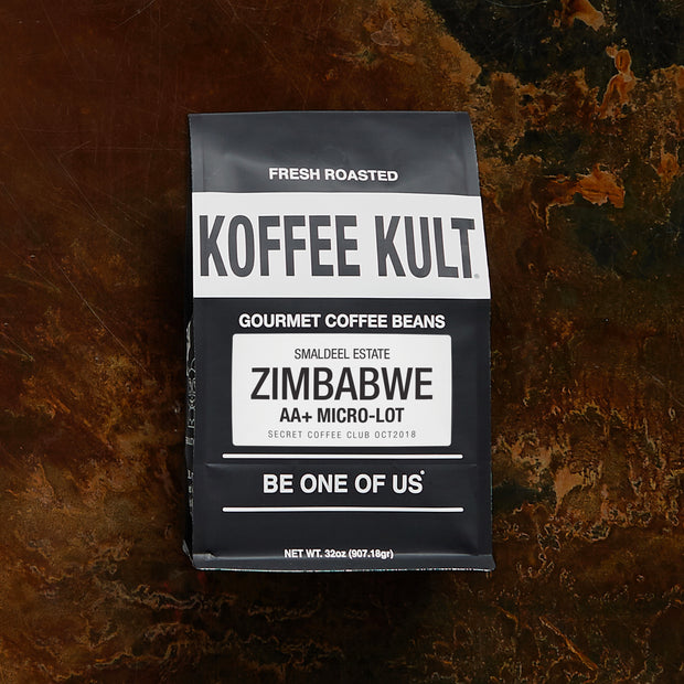 coffee zimbabwe aa+ micro-lot roast exclusive by koffee kult