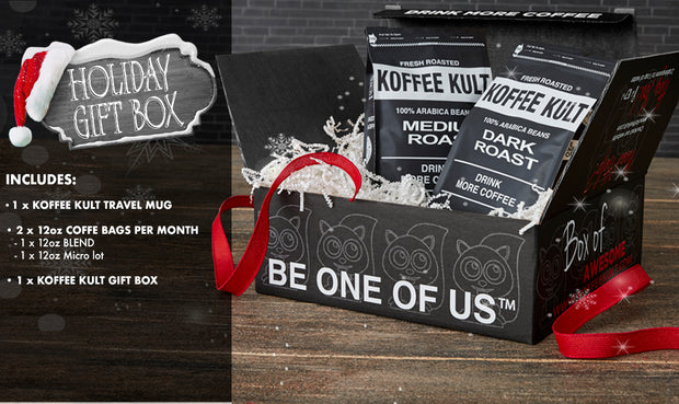 Koffee Kult Holiday Gift Box