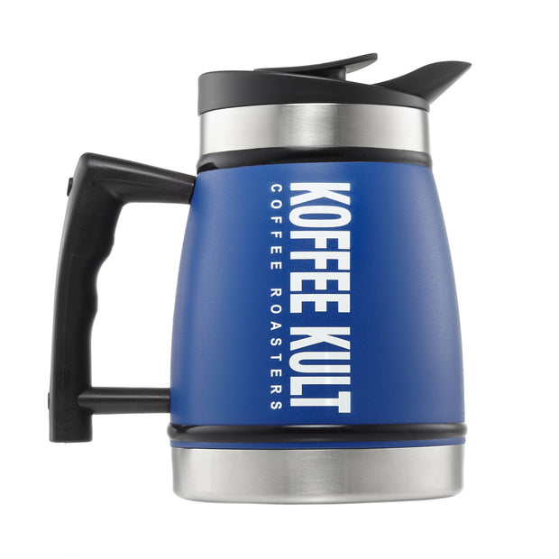 Blue French Press 32oz