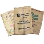 Used Burlap Coffee Bags