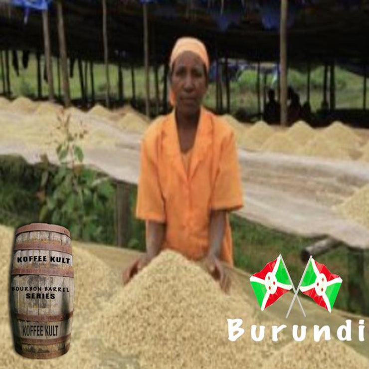 Bourbon Barrel Aged Burundi Coffee **Limited Release**