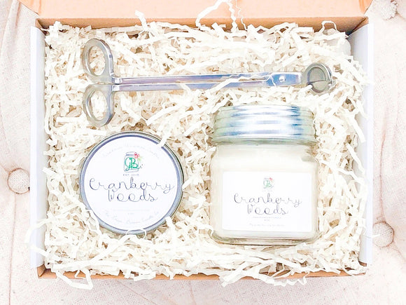 Farmhouse Christmas Candle Gift Set