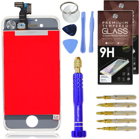 iPhone 4S Complete LCD Screen Replacement Kit inc Tools ...