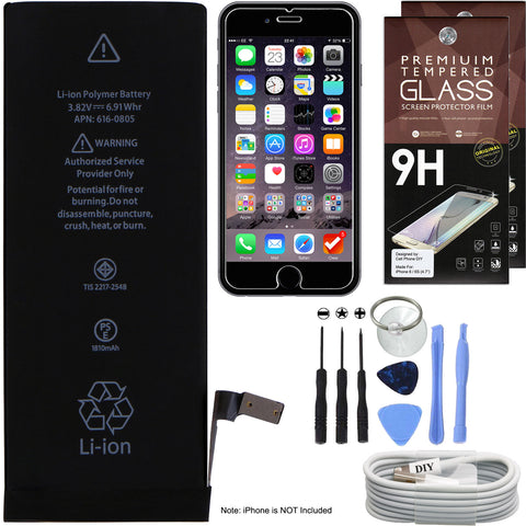 iPhone 6 Battery Replacement -  Battery Cell Phone DIY