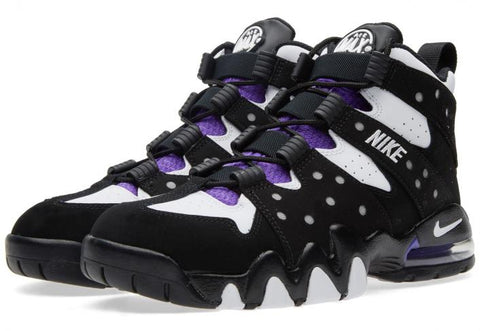 ... the Nike Air Max2 CB '94 Black/White-Purple makes its highly  anticipated release to Denim Exchange on August 8th, 2015. See the detailed  images below: