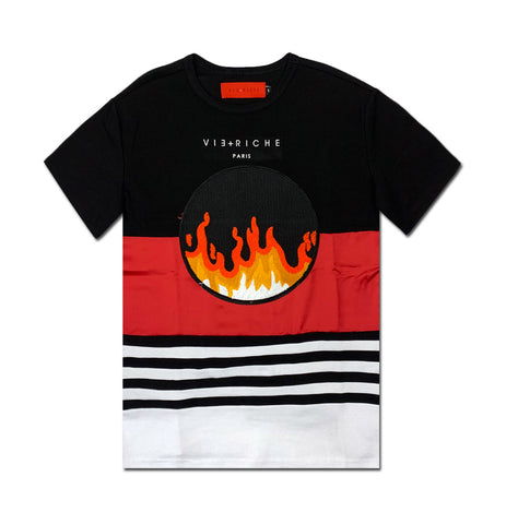 Flames Patch Tee