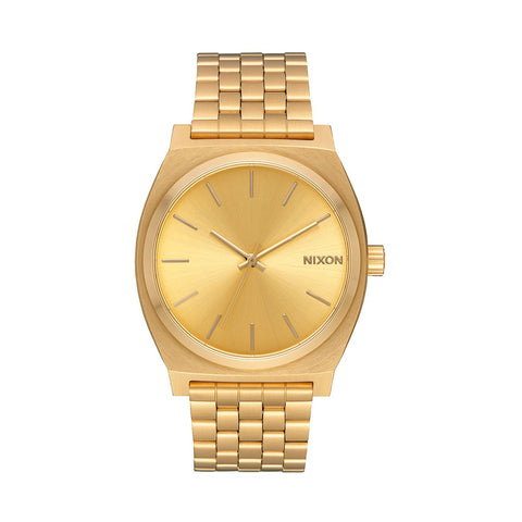 All Gold Time Teller Watch