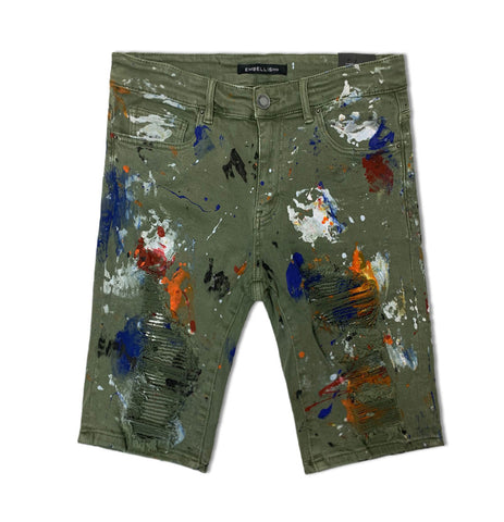 Beckham Rip and Repair Shorts