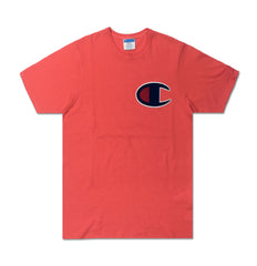 C Applique Logo Tee - Denim Exchange
