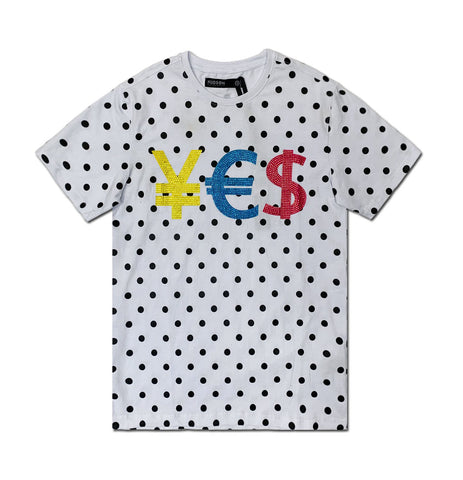 Dotted Currency Tee