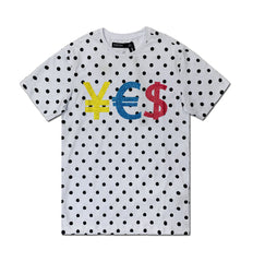 Dotted Currency Tee - Denim Exchange