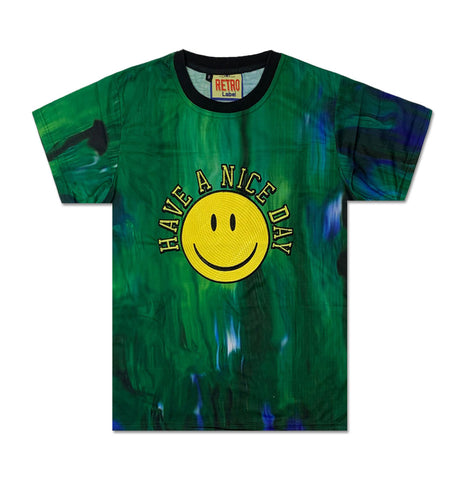 Have a Nice Day Tie Dye Tee - Denim Exchange
