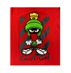 Marvin The Martian Caution Tee - Denim Exchange