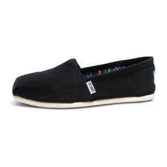 TOMS - Womens Black Canvas Classics - Denim Exchange - 1