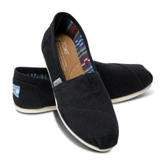 TOMS - Womens Black Canvas Classics - Denim Exchange - 2