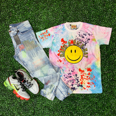 Have a Nice Day Splash Tee - Denim Exchange