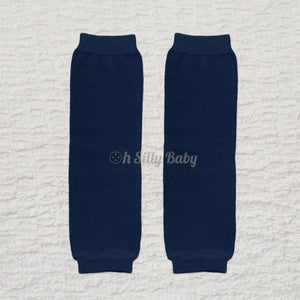 Navy Blue Baby Leg Warmers or Arm Warmers