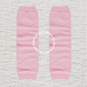 Perfectly Pink Baby Leg Warmers