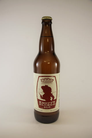 Three Creeks Brewing Knotty Blonde Sisters Or