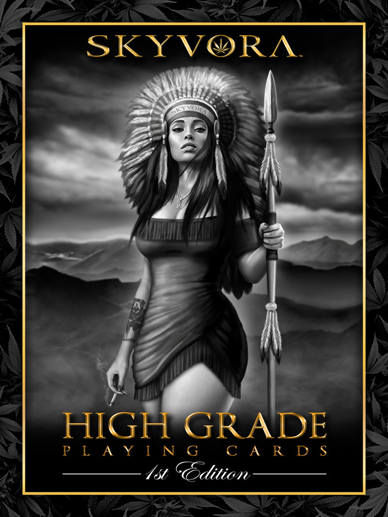 High Grade Playing Cards Poster