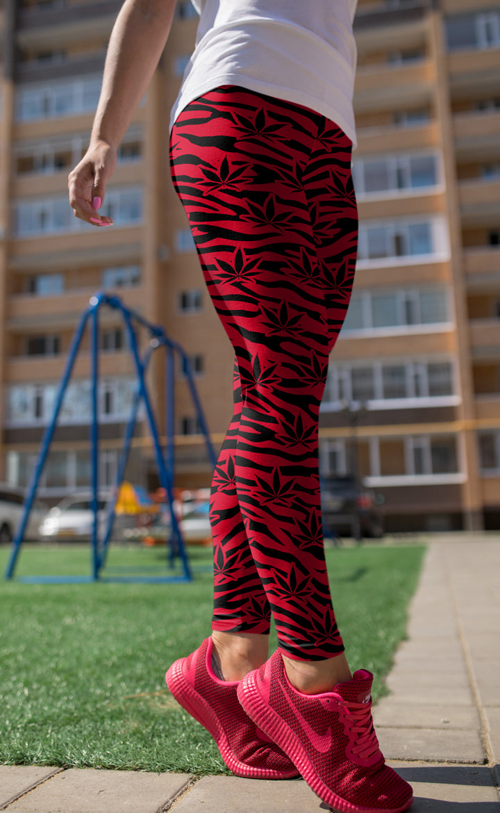 Red Tiger Leggings