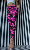Pink and Purple Camo Leggings