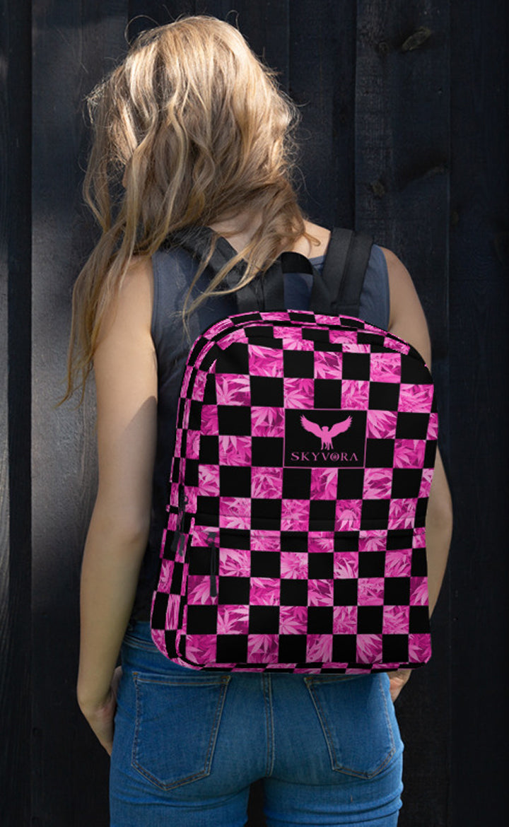 Checkerboard Backpack