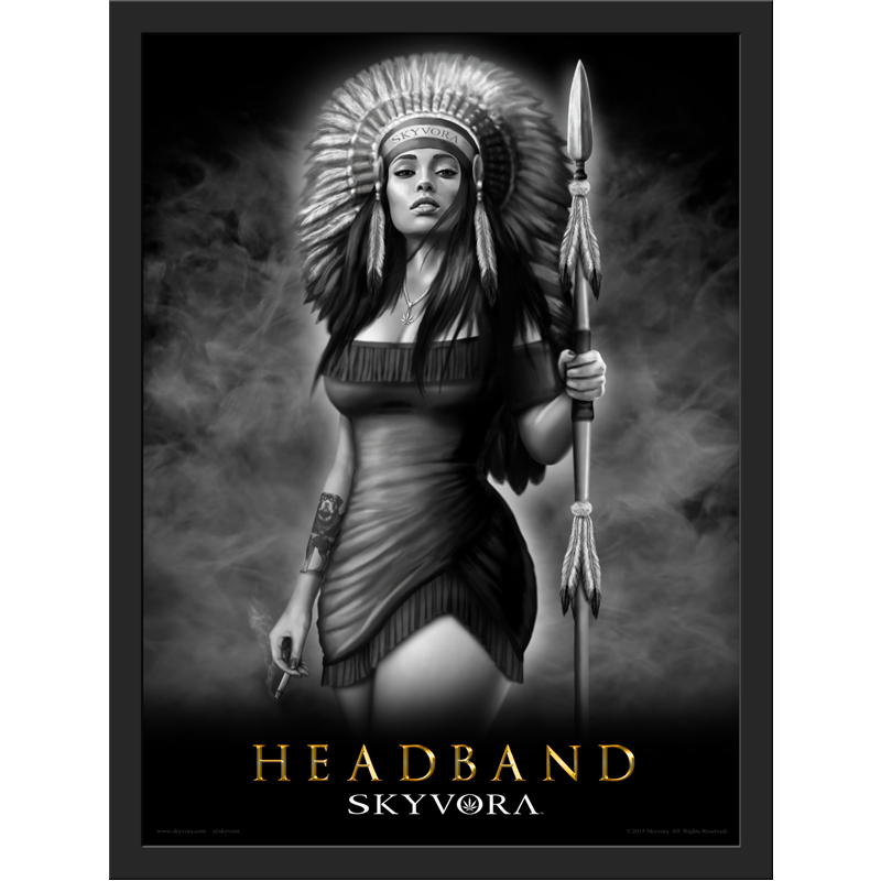 Headband Framed Poster