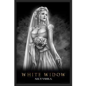 White Widow Framed Poster