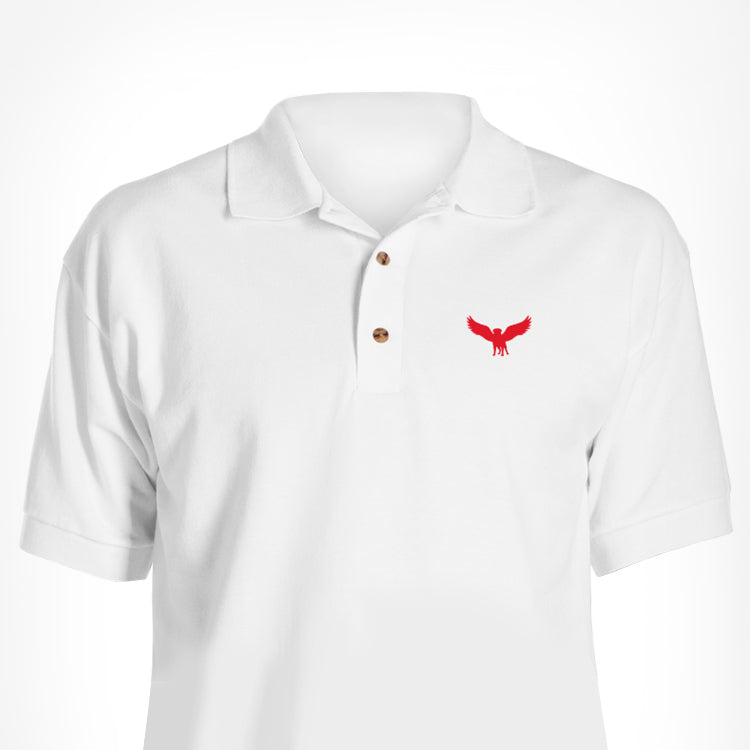 White Skyvora Polo
