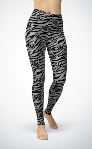 Grey Tiger Leggings
