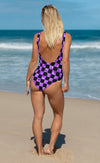 Checkerboard Swimsuit
