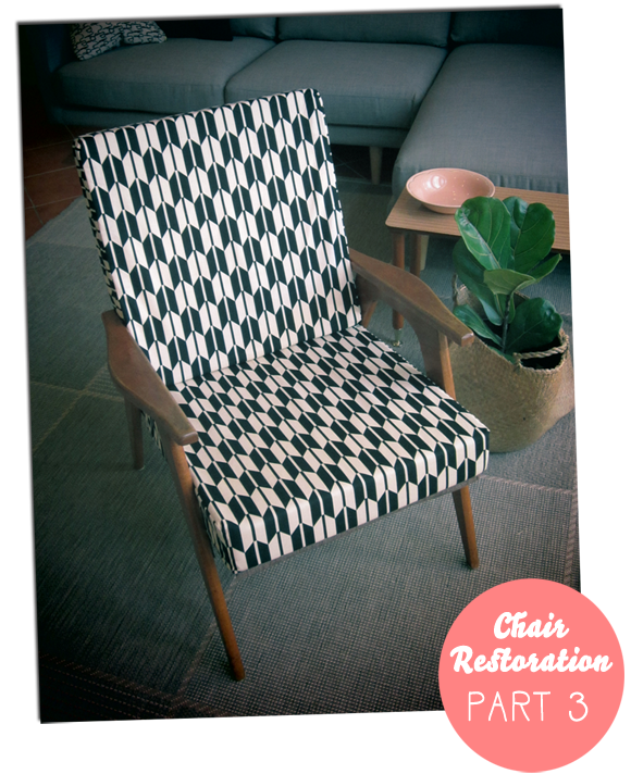 Restoring a lounge chair - Part 3