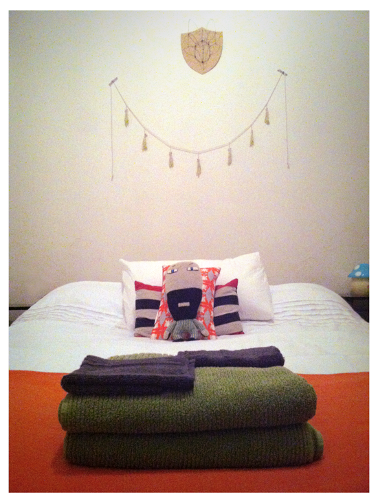Inside my home - The guest room